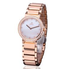 Iooilyu Love ADA Genuine Ladies Watch Fine Steel Quartz Watch Fashion Diamond Table Female Fashion Watch Waterproof Watch