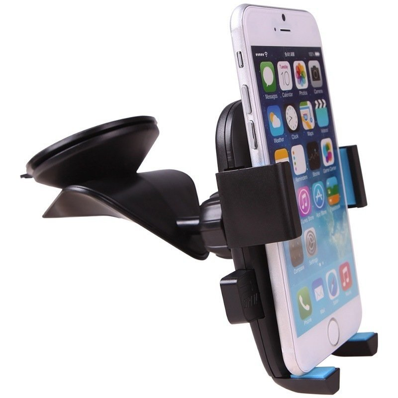 iPai Batman Car Windshield Dashboard Phone Mount Holder Black