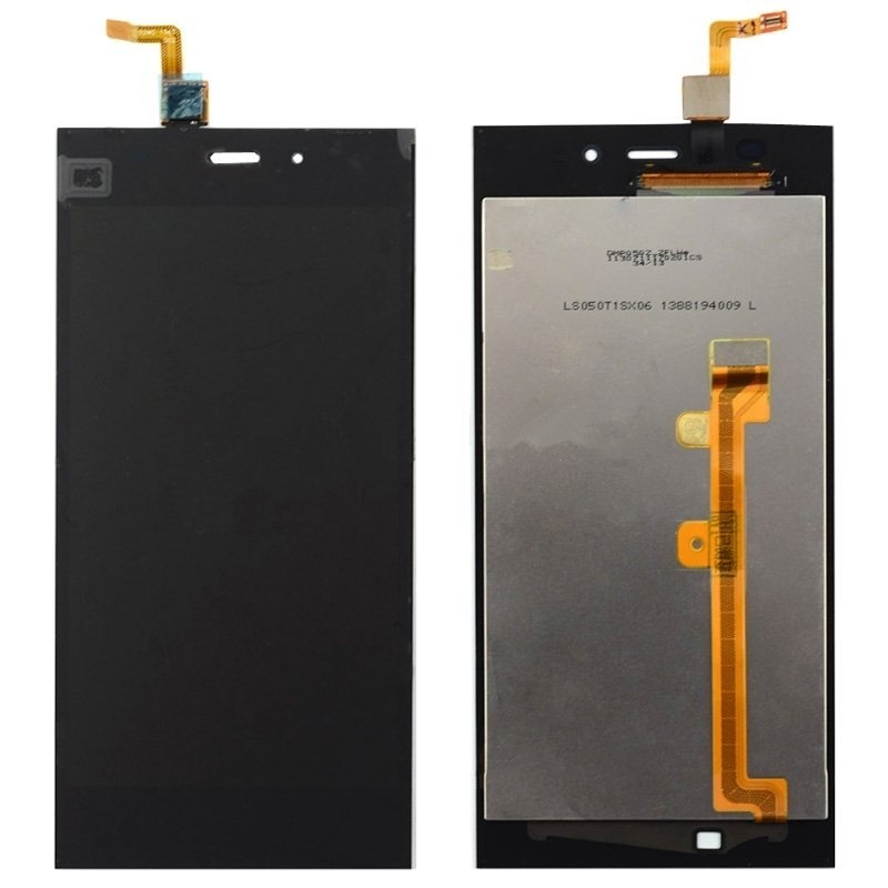 iPartsBuy LCD Screen + Touch Screen Digitizer Assembly for Xiaomi Mi 3 (Black)