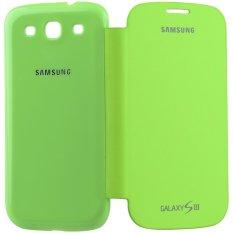 iStuff Flip Cover Fit Back - Samsung Galaxy SIII - Hijau