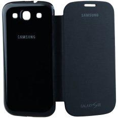 iStuff Flip Cover Fit Back - Samsung Galaxy SIII - Hitam