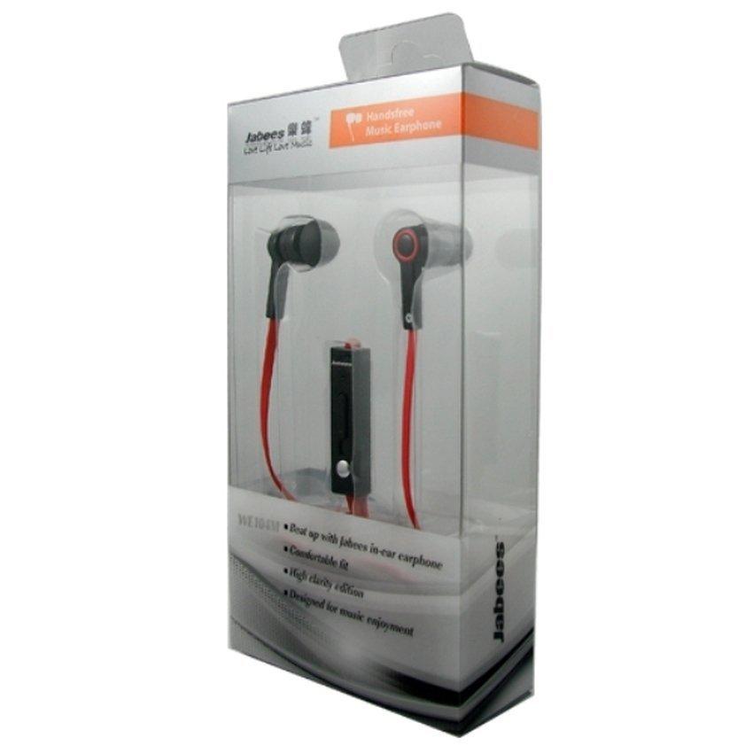 Jabees WE104M Stereo Electro Dynamic Earphone - Merah