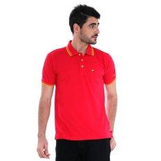 Jack Nicklaus Universal Polo Shirt - Sky Ptrl R - Merah