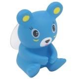 JIANGYUYAN Cartoon Animal Bear Shape Wall Toothbrush Holder, Blue (Intl)
