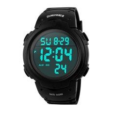JIANGYUYAN SKMEI Mens Digital LCD Screen Outdoor Wrist Watches