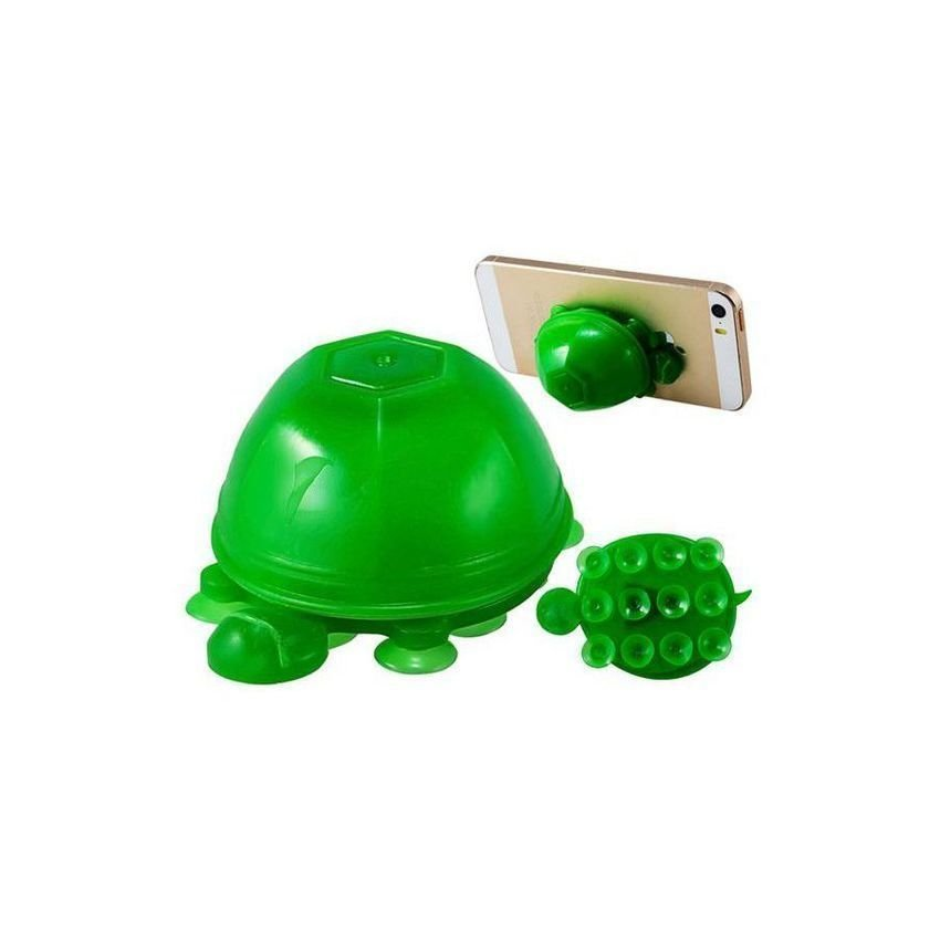 JOR Turtle Shaped Silicone Suction Cup Stand for Cell Phones Tablet PCs (Intl)