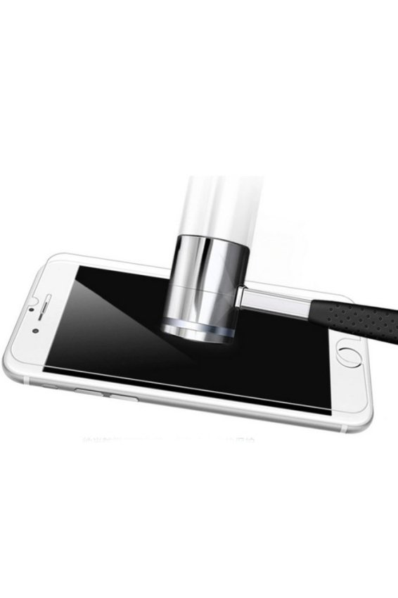 JustCreat iPhone4/4SHD Scratchproof Glass Screen Protector for Phone and Ipad (0.33mm Arc Edges) (Intl)