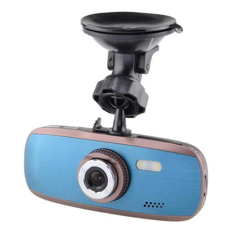 """K9 Full HD 1080P 5.0MP 2.7"""" LCD Car Camcorder w/ Night Vision Function (Blue/Brown)"""