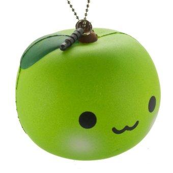KadoUnik Japanese Kawaii Character Squishy Mascot Ball Chain Ringo Chan - Hijau Lazada Indonesia