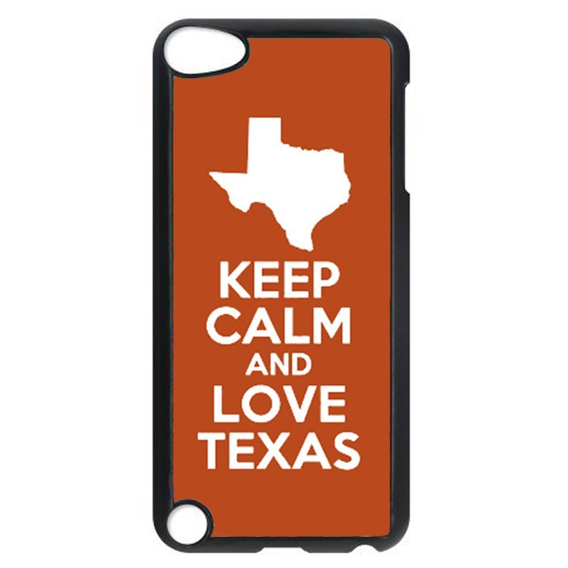 Keep Calm And Love Texas Phone Case for iPod Touch 4 (Black)