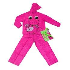 Kiddo Album Jas Hujan Anak Unisex - Pink