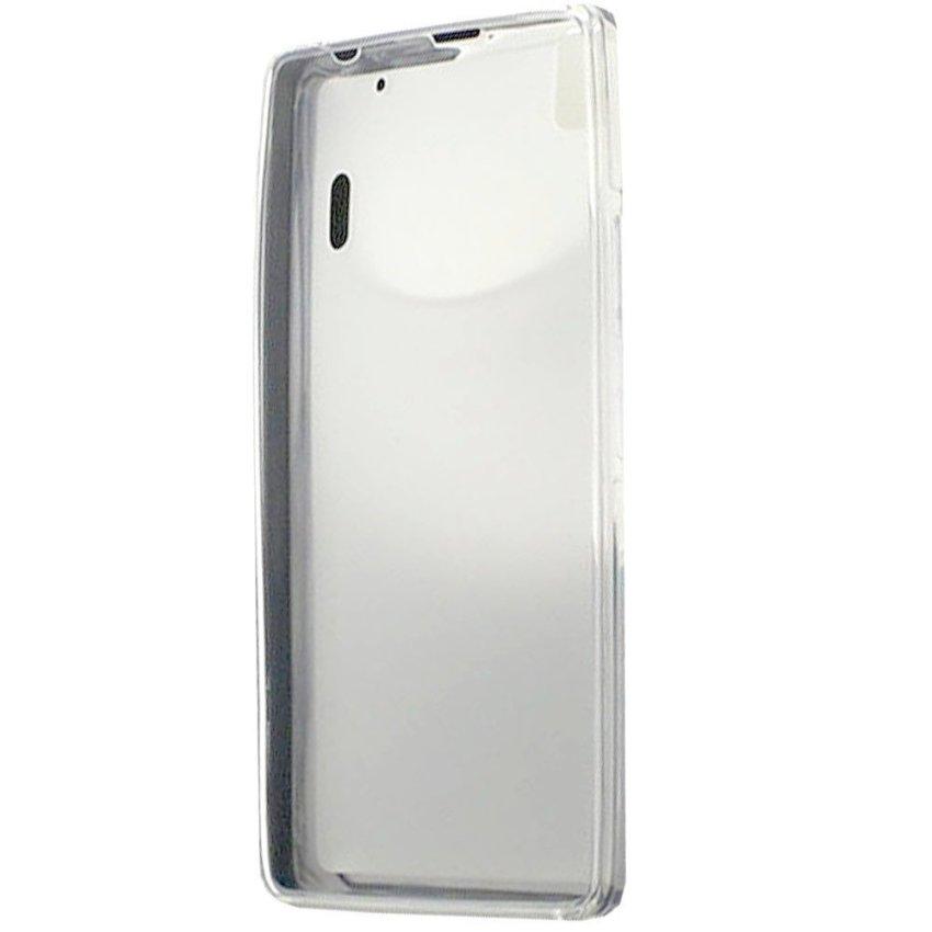 Kimi - Lenovo A7000 K3 Note Ultra Thin Crystal TPU Pudding Case Original - Clear White