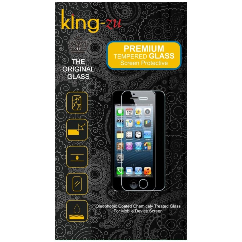 King -Zu Tempered Glass Screen Protector for Lenovo S90  Anti Gores