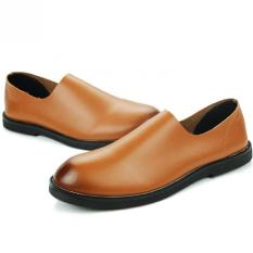 "Korean Version Of Men""s Casual And Comfortable Breathable Cool Shoes (Brown) ' - Intl"