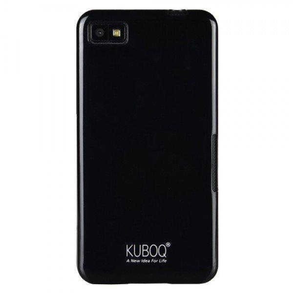 Kuboq Soft Jacket Hitamberry Z10 - Hitam