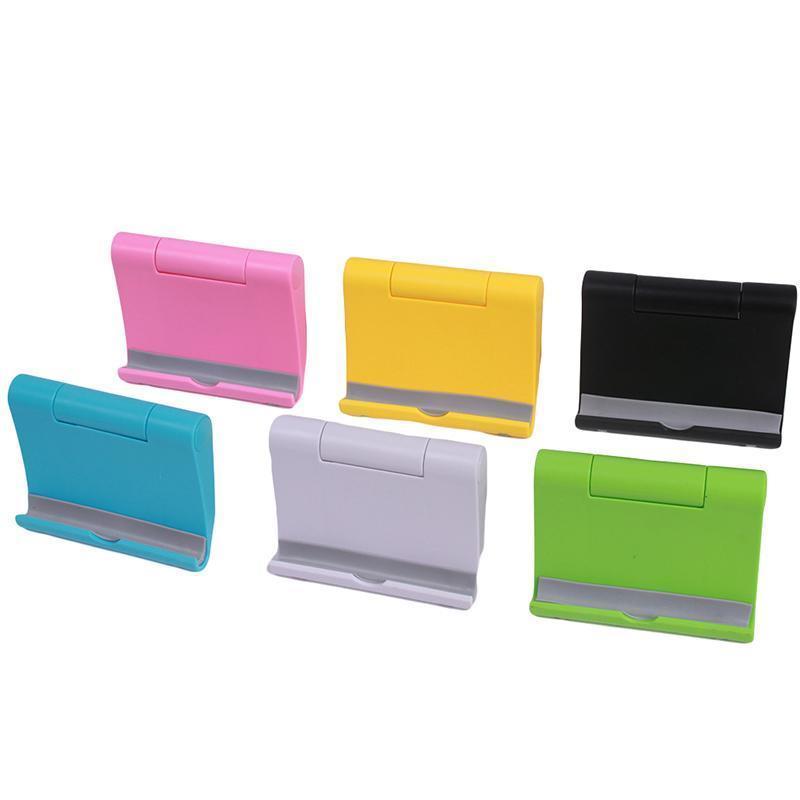 LALANG Universal Adjustable Foldable Desk Tablet Mobile Phone Stand Holder (Black) (Intl)