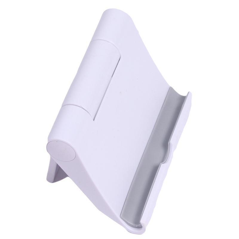 LALANG Universal Adjustable Foldable Desk Tablet Mobile Phone Stand Holder (White) (Intl)