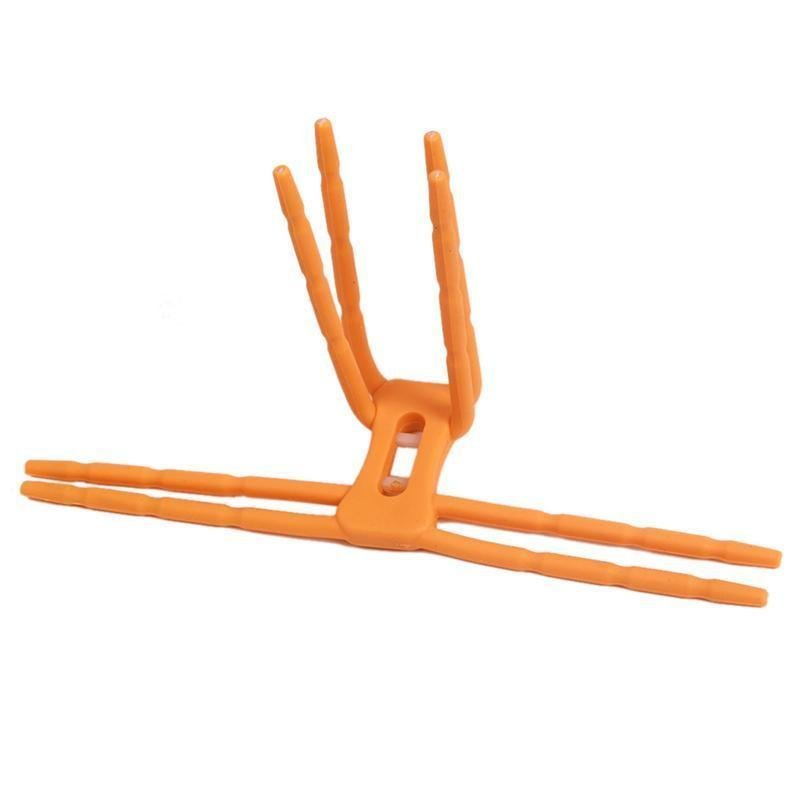 LALANG Universal Flexible Spider Car Phone Holder Mount Stand (Orange) (Intl)
