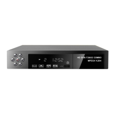 Landor Full HD 1080P DVB-T2 + S2 Video Broadcasting Satellite Receiver Box TV HDTV Box (EU Plug) - Intl