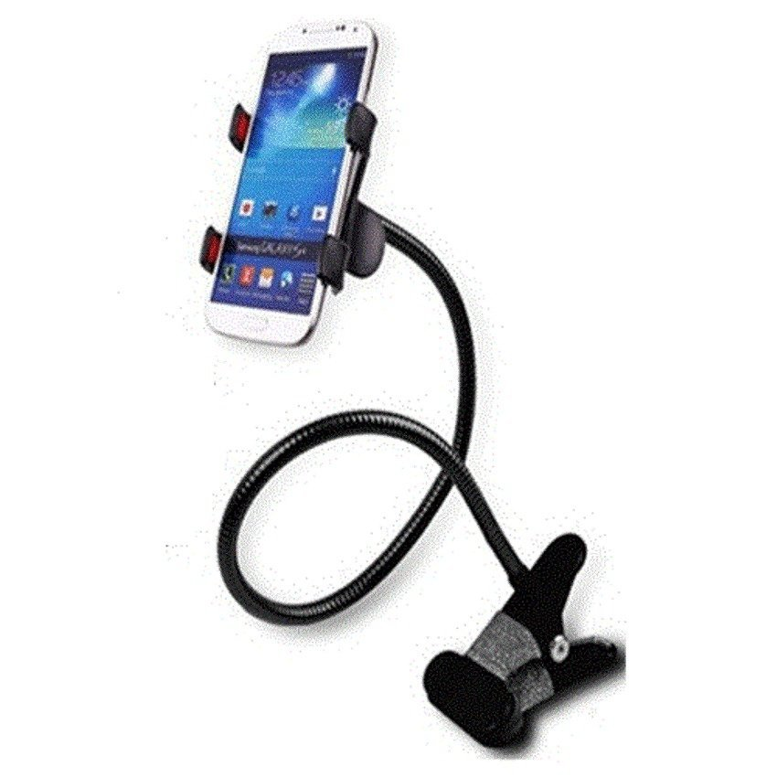 Lazy Mobile Phone Monopod - Tripod-8-1 - Hitam