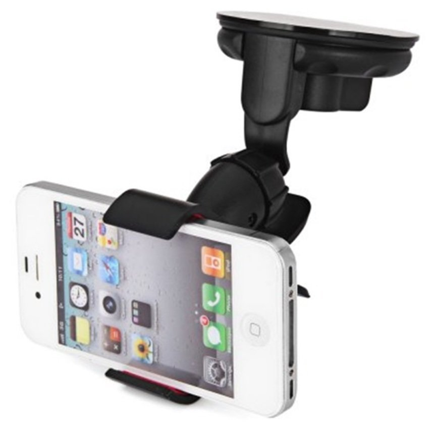 Lazy Tripod Car Mount Holder for Smartphone - WF-362 - Black