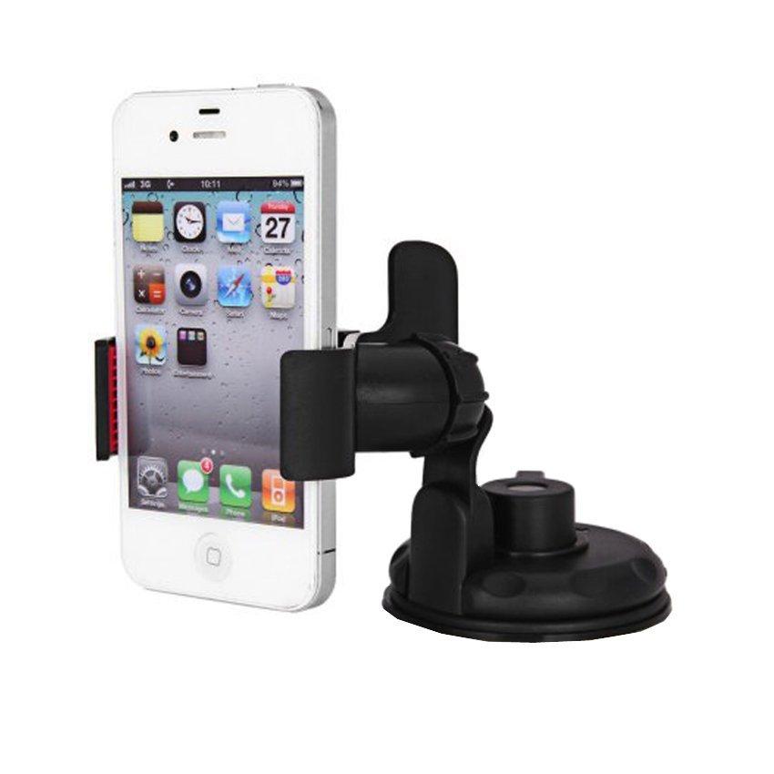 Lazy Tripod Car Mount Holder for Smartphone - WF-362 - Black