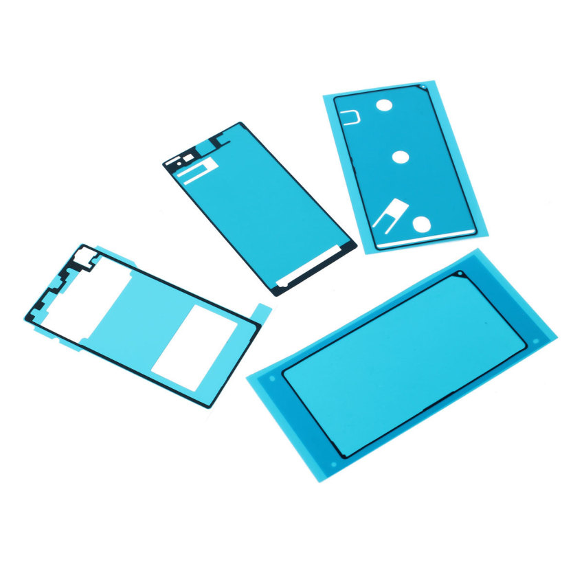 LCD Adhesive Back Cover Sticker for Sony Xperia Z1 L39H (Blue) (Intl)