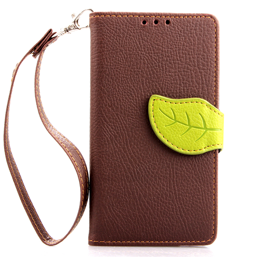 Leather Cover for Sony Xperia Z3 Compact (Brown) (Intl)