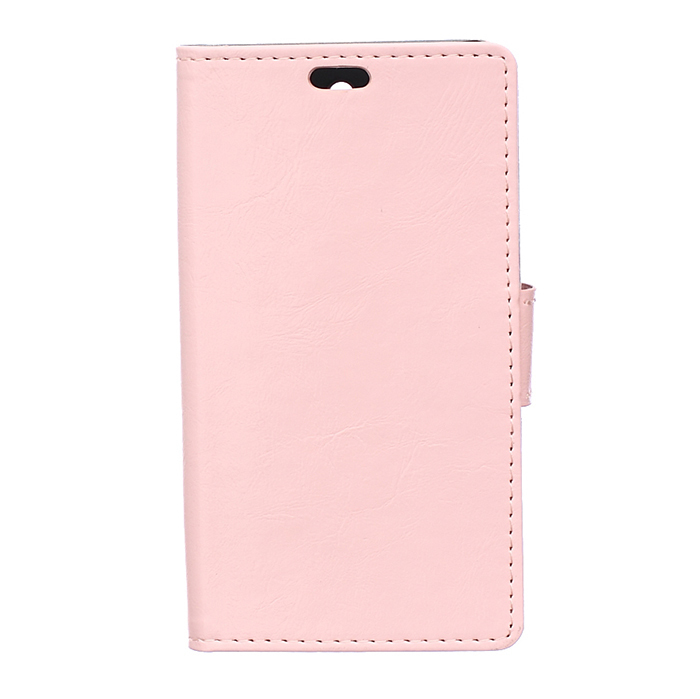 Leather Flip Case with Card Slot for LG H440N (Pink) (Intl)
