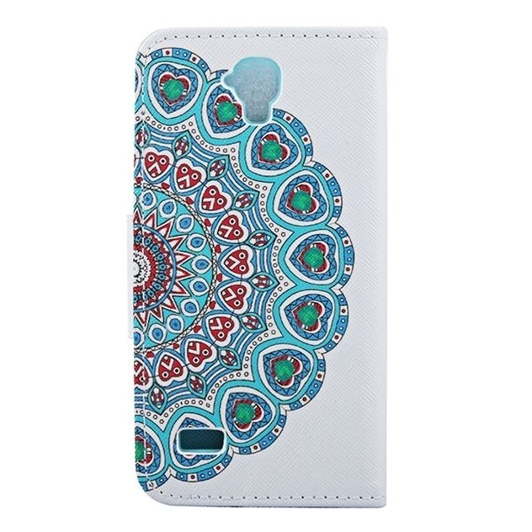Leather National Style Flower Bud Pattern Horizontal Flip Cover for Huawei Y560 (Multicolor) (Intl)