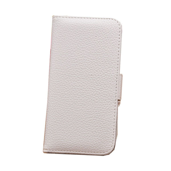 Leather Shell Flip Protection Cover for iPhone 6 (White) (Intl)
