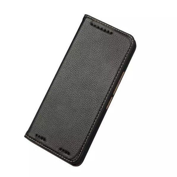 Leather Wallet Case for HTC M9 Plus (Black) (Intl)