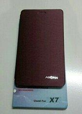 Leathercase Advan X7 Original - Merah