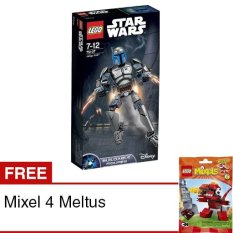 LEGO - Constraction Star Wars Jango Fett + Free Mixel 4 Meltus