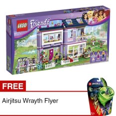 LEGO Friends - Emma`s House + Free Airjitzu Wrayth Flyer