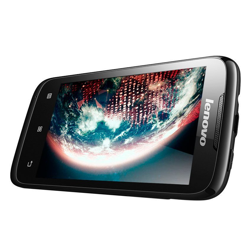 Lenovo A369 Dual-On SIM - 4 GB - Hitam