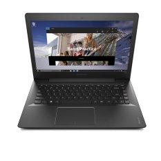 """Lenovo IdeaPad 300-14 - 14""""LED - Intel QuadCore N3150 - RAM 2GB - Hitam"""