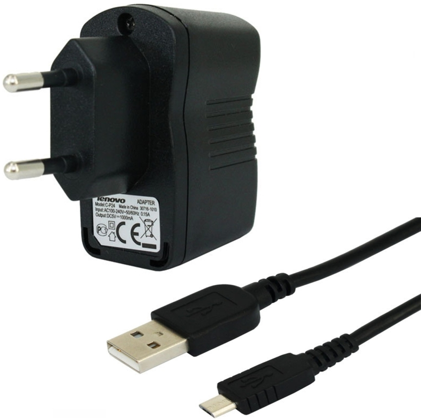 Lenovo Travel Charger C-P24 5V - 1000mA Original 100%