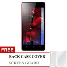 Lenovo Vibe Shot Dual SIM - 32 GB - Putih + Gratis Back Cover + Screen Guard