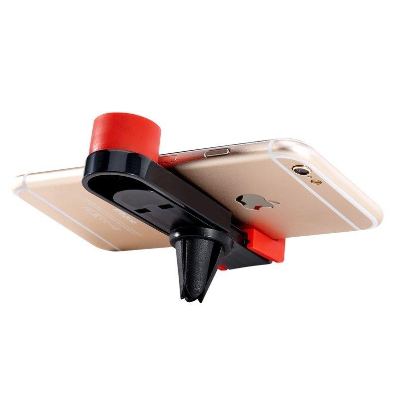 LENTION Car Air Vent Outlet Magnet Phone Holder RED(Intl)