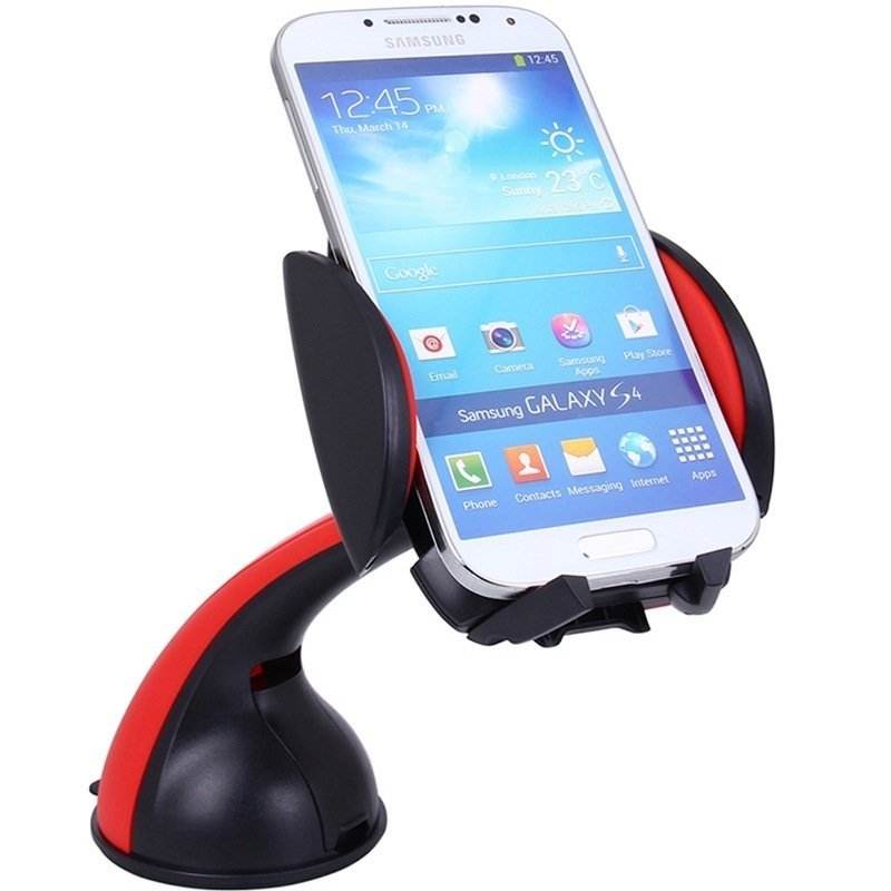 Lention Car Mount Holder for c300 Cell Phone Red