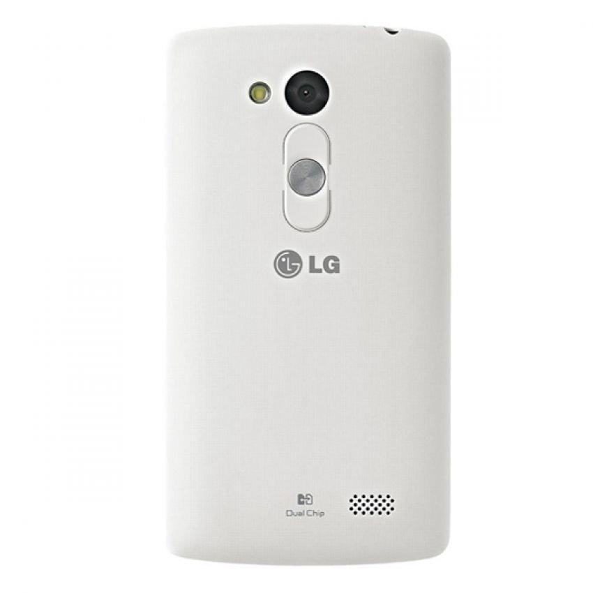 LG L Fino D295 - White + Flip Case Cover