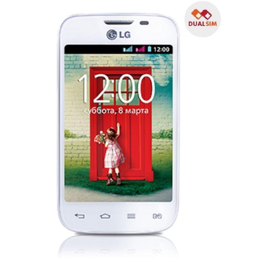 LG L40 - 4GB - Gorilla Glass - KitKat - Putih