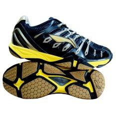 Li Ning Titan Plus Badminton Shoes White Red Gold