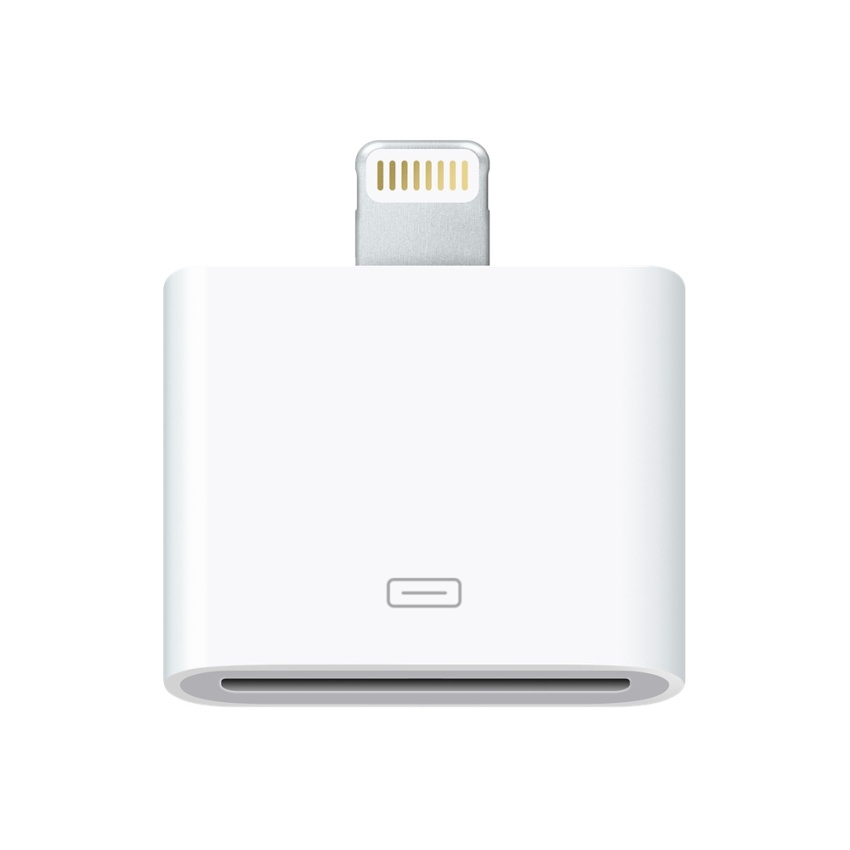 Life Adaptor Converter 30 pin to Lightning for iPhone 5 Putih
