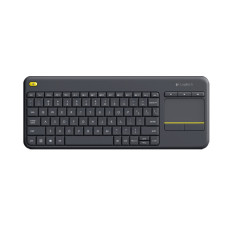 Logitech K400 Plus Wireless Touch Keyboard - Hitam