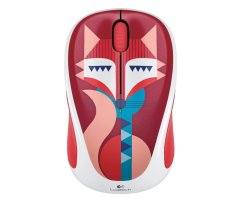 Logitech Mouse Wireless M238 - Motif Fox