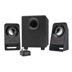 Logitech Multimedia 2.1 Speakers Z213 - Hitam