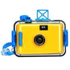 LOMO Waterproof Card Type 35mm Film Camera - Kuning