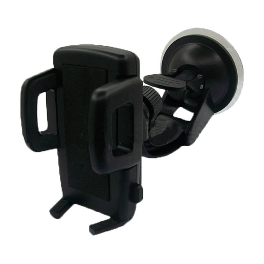 louiwill Vehicle Car Mount Mobile Phone Rack for PDA GPS Smartphone (Black) (Intl)